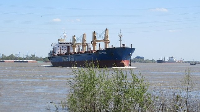 deepening the Mississippi River to improve shipping access