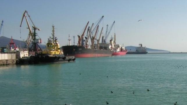 file photo of Novorossiysk Port