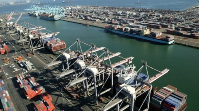 Import volumes drive records at Port of Los Angeles