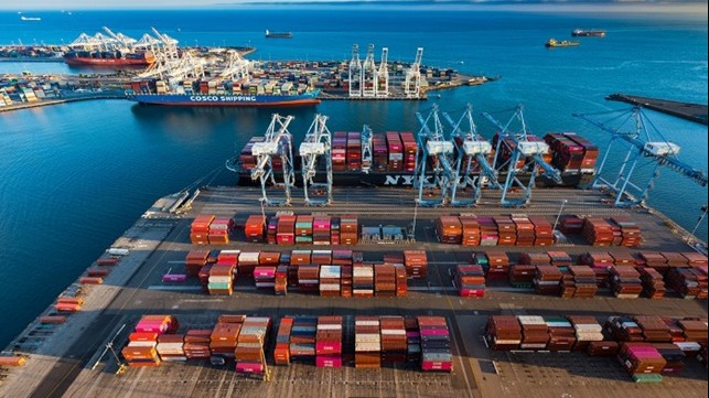 Southern California's ports continue to experience volume increases