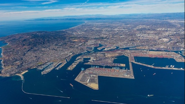 increases in port volume creating congestion concerns