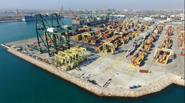 EU supports electrification of Valencia port terminals