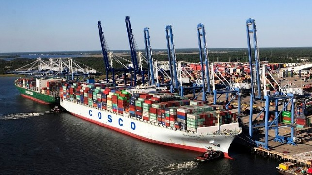 file photo of the Port of Charleston