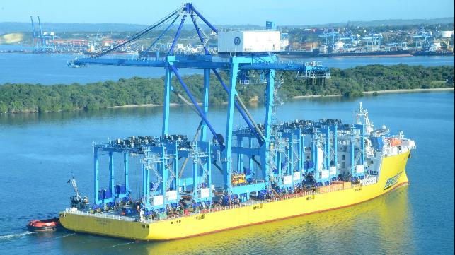 Cranes arriving in Kenya