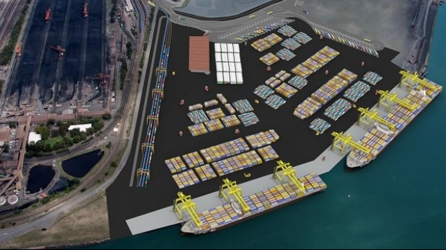 Plan for Port of Newcastle's container terminal