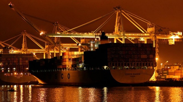 file photo courtesy of the Port of Oakland