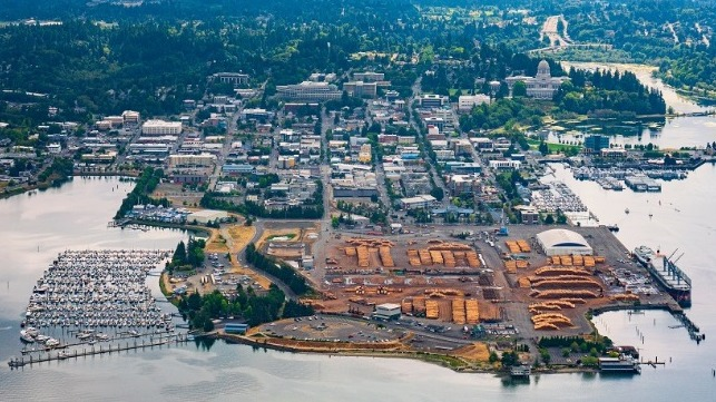 aerial port of olympia