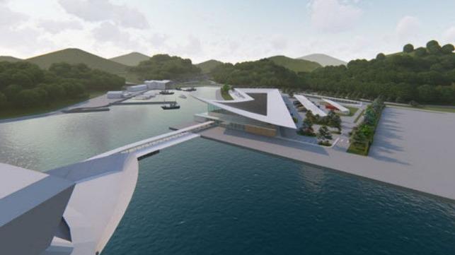 Uragashira Cruise Terminal design