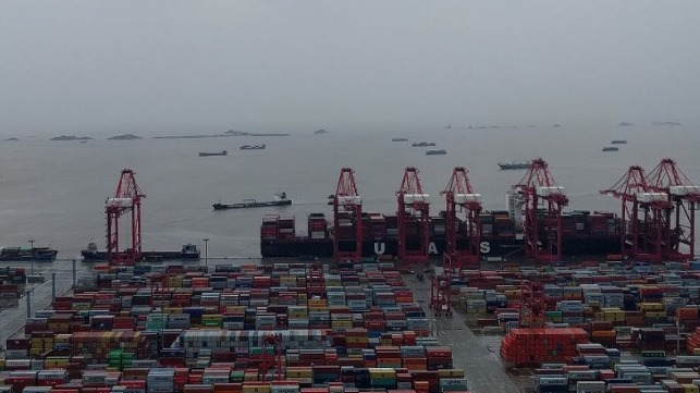 GPS Jamming and Spoofing Reported at Port of Shanghai