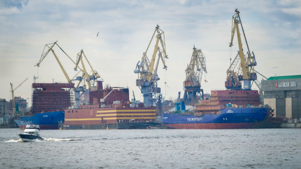 St Petersburg's Baltic Shipyard