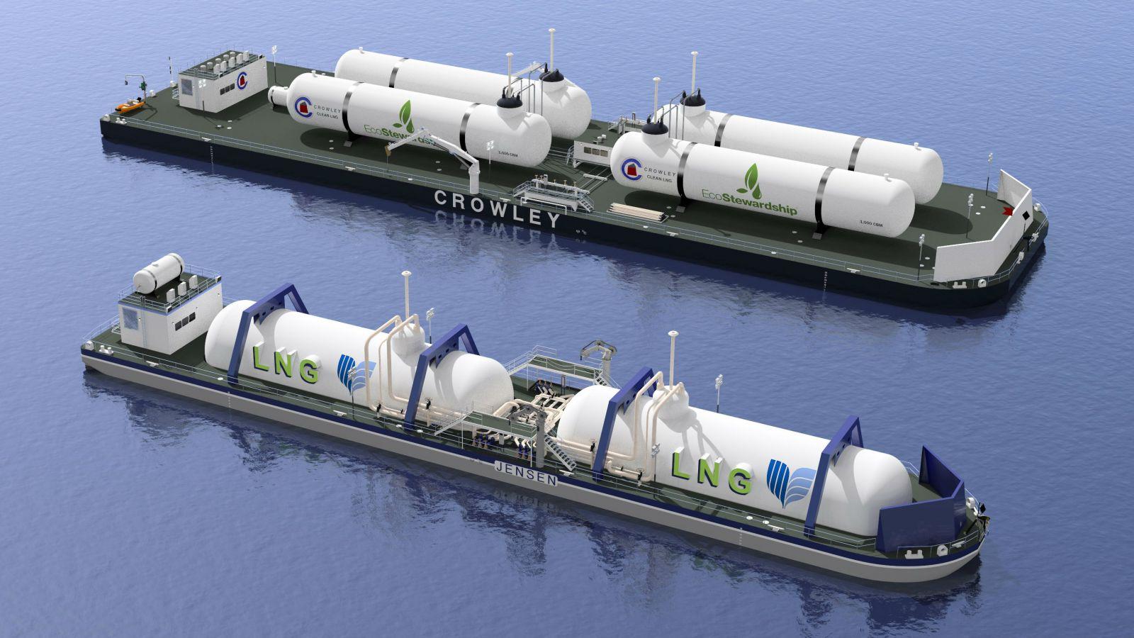 New Design For Lng Bunker Barge Retrofit