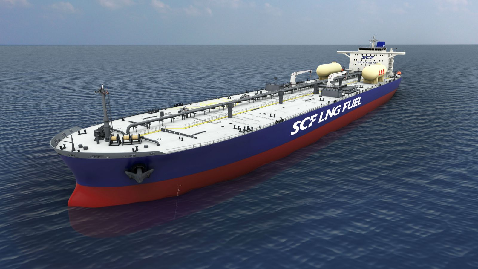World's First LNG-Fuelled Aframax Tankers Ordered