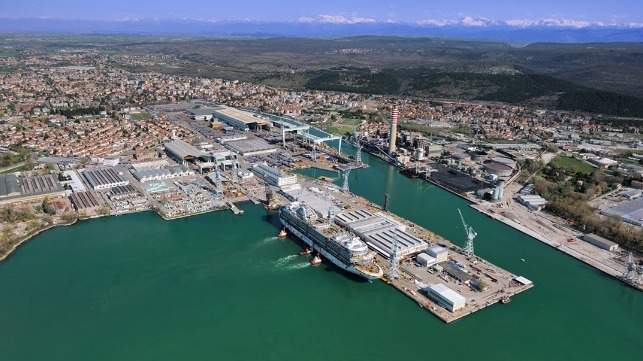 Fincantieri expects rebound after 2020 impacted by COVID-19