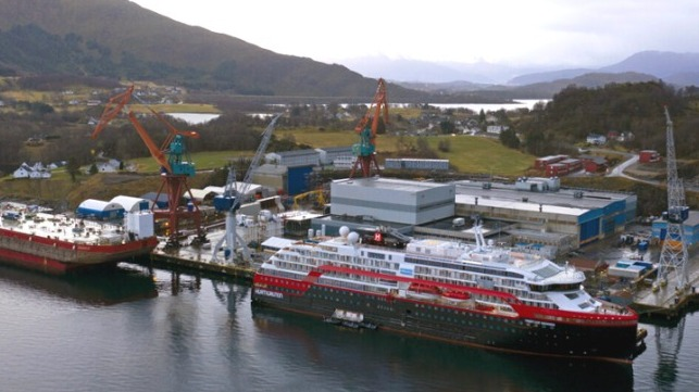 Norway's Kleven Werft files for bankruptcy creating an uncertain for the builders of cruise ships and offshore vessels