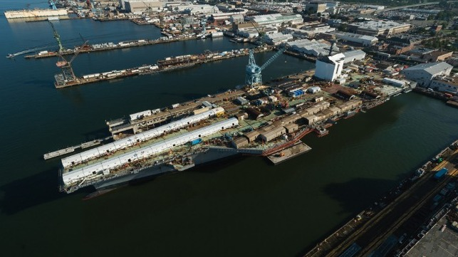 Newport News Shipbuilding layoffs