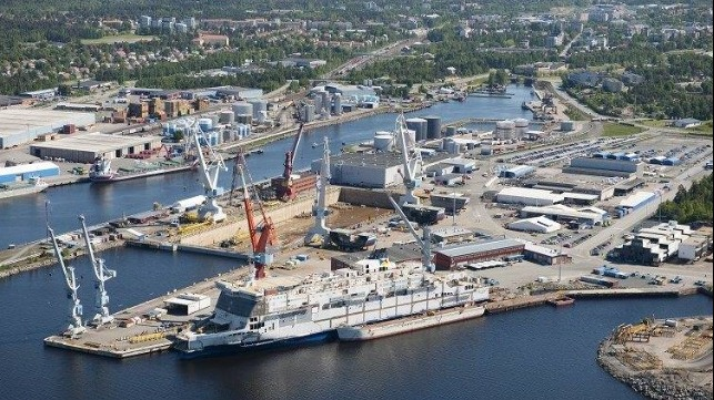 COVID outbreak at shipyards in Finland and Japan