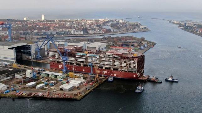 crMV Werften cruise ship construction