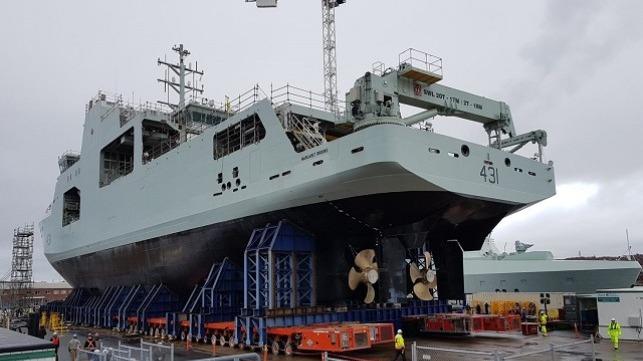 the future HMCS Margaret Brooke