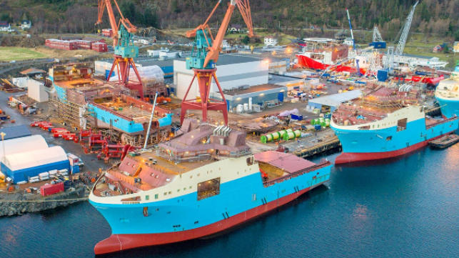 Norway's Kleven Verft shipyard acquired from bankruptcy