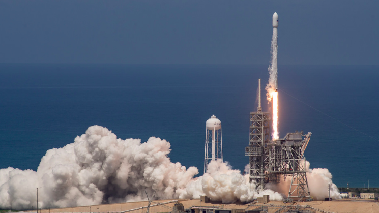 SpaceX Launches Maritime Industry's Future