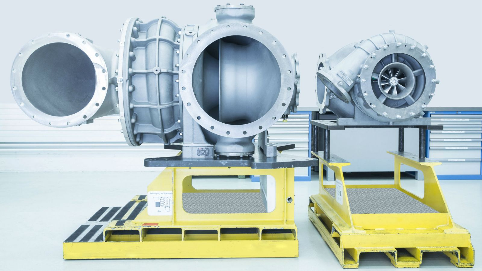 ABB two-stage turbocharger Power2 800-M