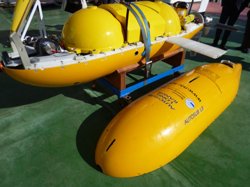 Boaty McBoatface, a yellow submarine set to leave for Antarctica