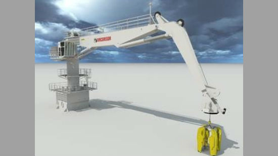 MacGregor Cargotec wind turbines active heave compensation