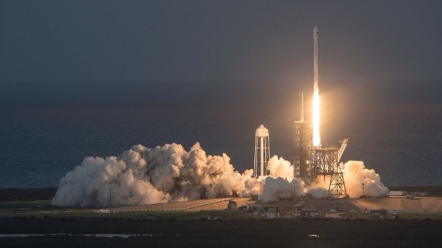 Satellite Launch: Credit SpaceX