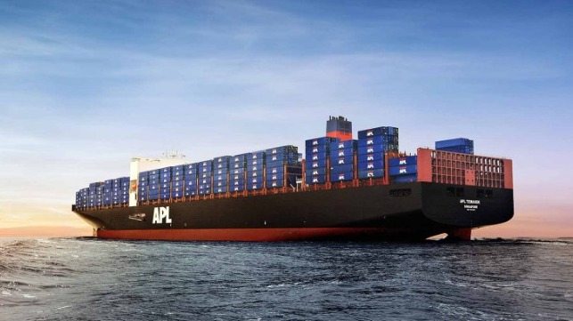 CGM CMA reorganizes its transpacific service with APL focusing on US Government