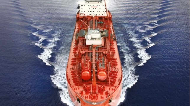 Saudi Arabia chemical tanker