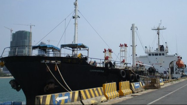 US seizes tanker used to avoid North Korea sanctions