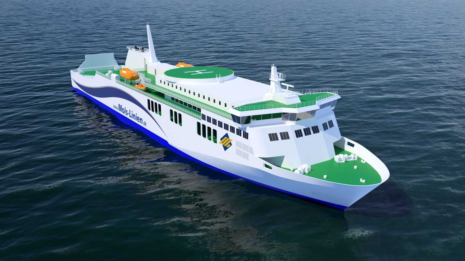 Rolls Royce Delivers Propulsion For Danish Passenger Ferry