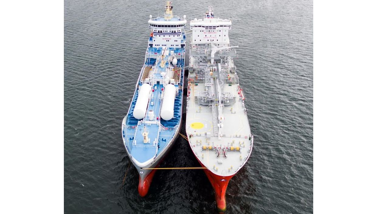 ship to ship bunkering