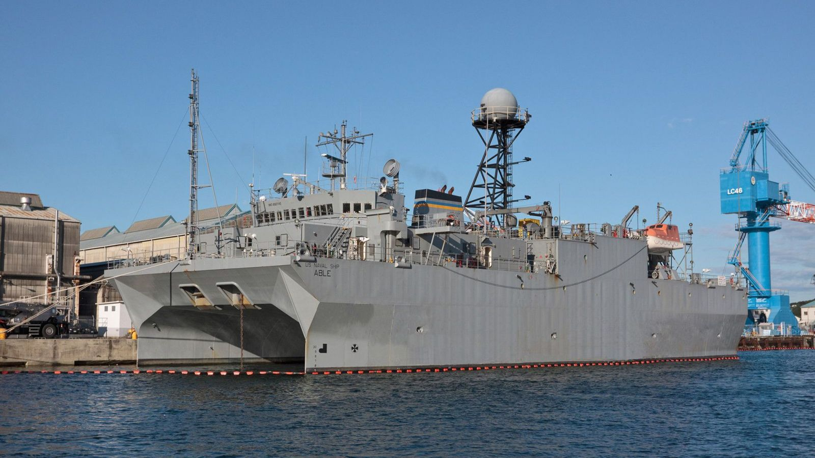 The Military Sealift Command Dry Cargo Photograph by