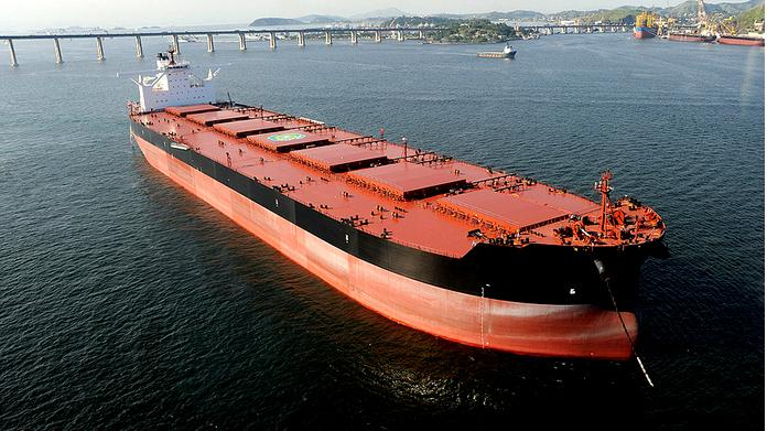 Valemax bulk carrier
