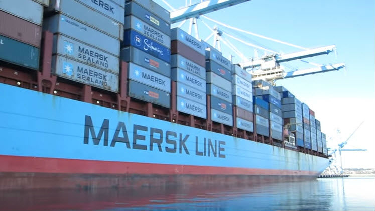 Maersk Tracks Emissions On Upgraded Ships
