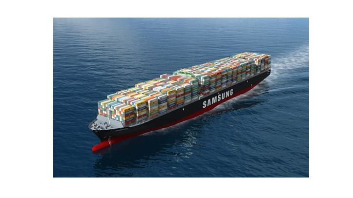 Mega Container Ship