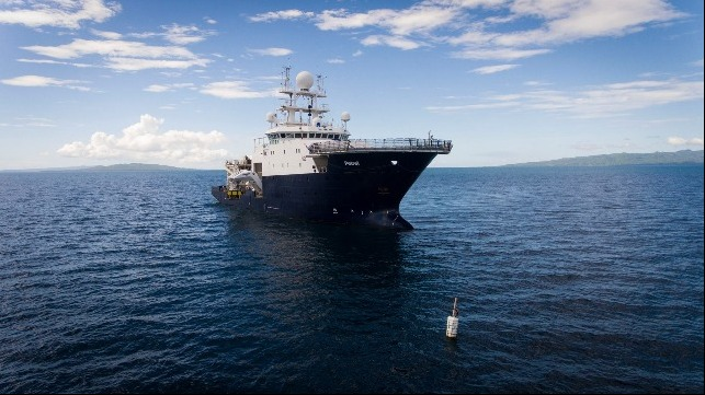 Paul Allen S Research Vessel Maps Wrecked Navy Plane