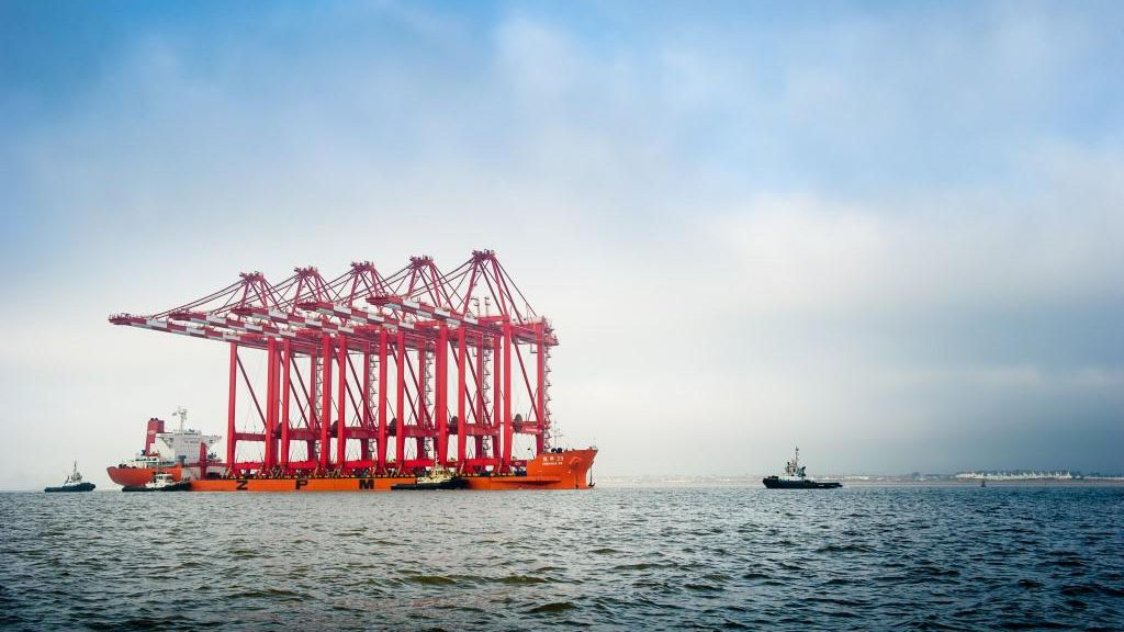 Ship-To-Shore Cranes