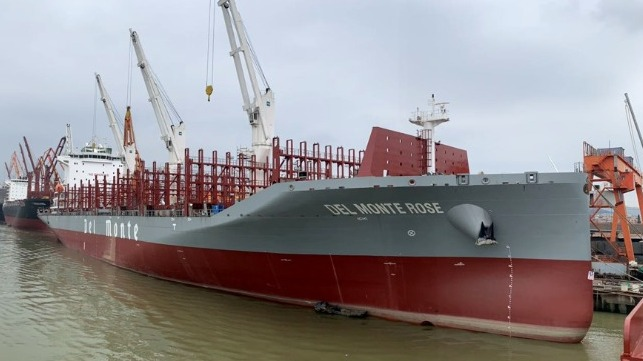 Del Monte is introducing a new generation of energy efficient refer container ships