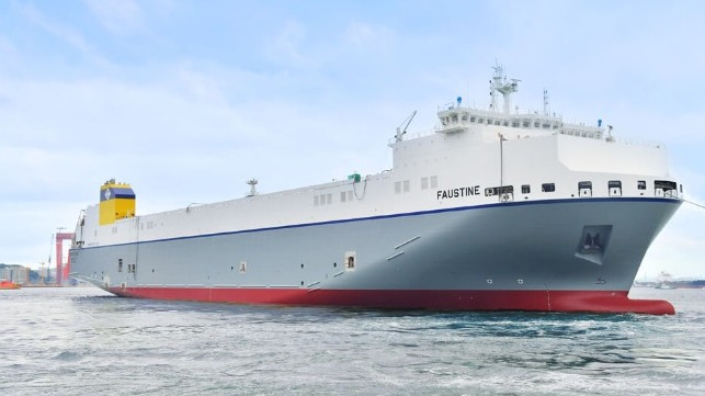 first lng-fueled ro-ro built in South Korea