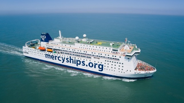 Mercy Ships Sends Out Clear Signal of Hope With Intellian Technology