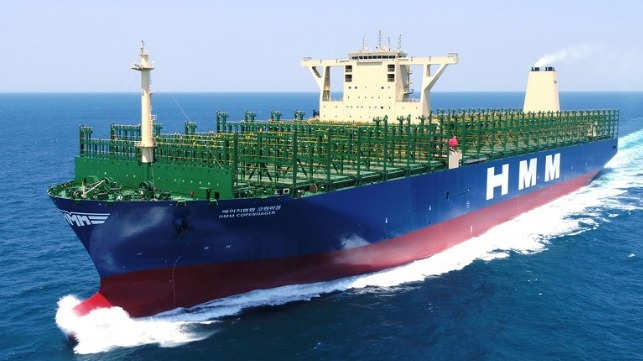 class society awards approval for ammonia-fueled ultra-large containership design