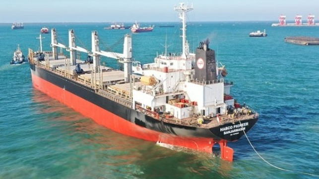 Indonesia bulk carrier