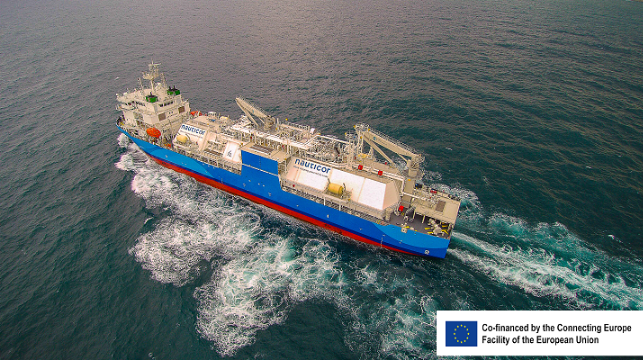 World's largest LNG Bunker Vessel Commences Operation