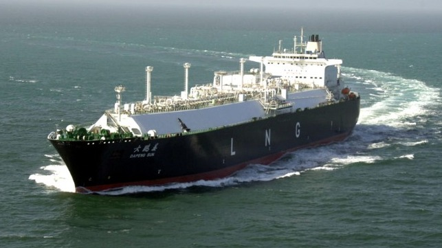China CSCO orders three new LNG vessels