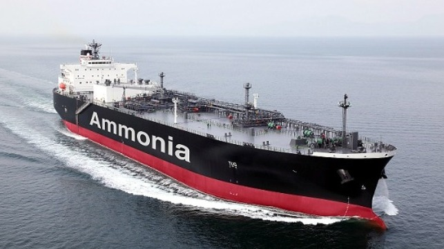 R&D efforts in Japan and China to commercialize ammonia as a maritime fuel