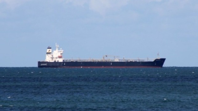 oil spill tanker hit by cargo ship
