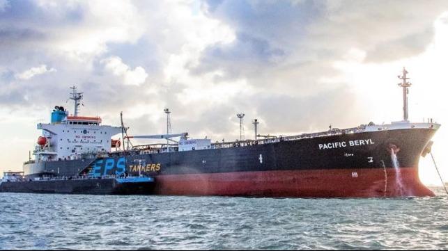 testing marine biofuel on tankers