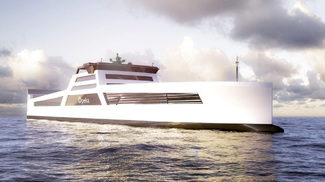 projects aiming to develop hydrogen powered ships